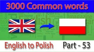 english to polish  2601 2650 most common words in english   words starting with s