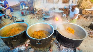 biryani-for-2-000-huge-indian-food-celebration-malabar-coast-kerala-india