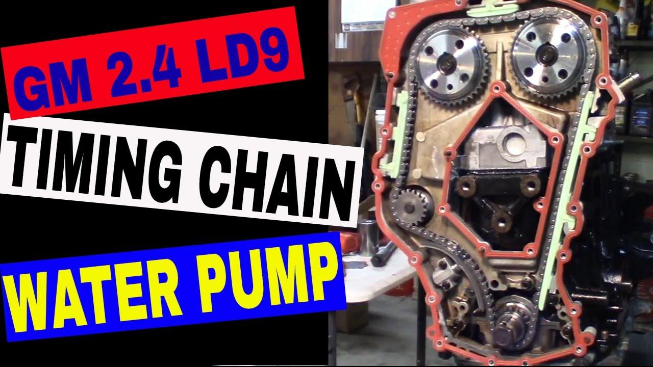 Water Pump  U0026 Timing Chain