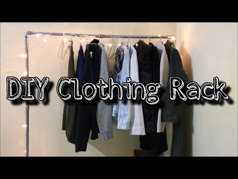 DIY Clothing RacK Under Rs 1000/- | Clothing Rack under $15 | DIY