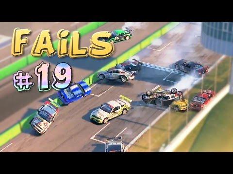 Racing Games FAILS Compilation #19