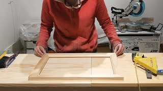Making a picture frame using a router