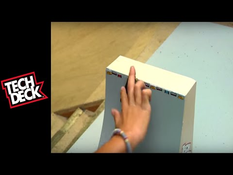 Tech Deck Tutorials: Intermediate Vert Tricks