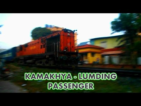 Kamakhya - Lumding Passenger with NGC WDM3A Gear Up for Journey!!!!