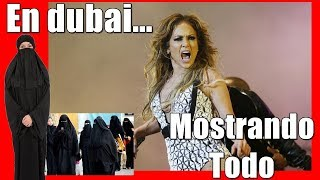 MIRA A JENNIFER LOPEZ EN DUBÁI MOSTRANDO TODO! ¡ESCÁNDALO!