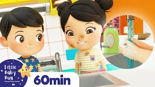 Wash Your Hands Before You Sleep With Ollie & Ella + Nap Time Songs For Kids | Little Baby Bum