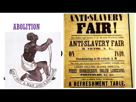 Slavery And Abolition In The United States