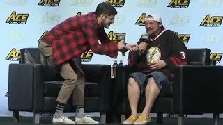 ACE Comic Con 2018 Panel Q and A with Grant Gustin and Kevin Smith