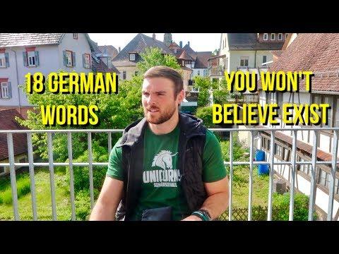18 Weird German Words You Won't Believe Exist