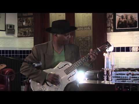 Eric Bibb, playing & discussing Booker White's guitar