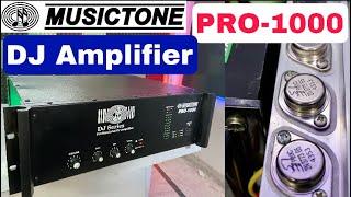 Musictone 1000w DJ Amplifier ओर हॉर्न यूनिट के लिए 🔥