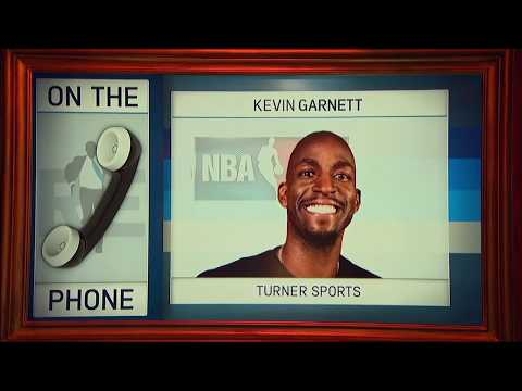 "Turner Sports' Kevin Garnett on Gathering NBA Legends for His ""Area 21"" Show 