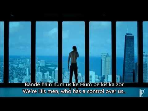 Bande he hum Uske Dhoom 3 Full Poem Hindi English Subtitles