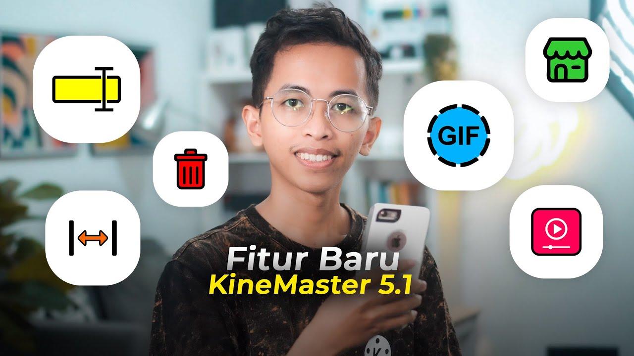Fitur Baru KineMaster 5.1 - Bisa Export Video jadi GIF 😲🔥 | KINEMASTER TUTORIAL #60