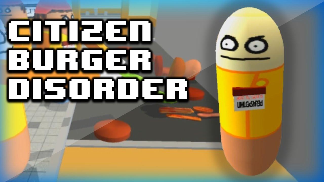 citizen burger disorder アプリ
