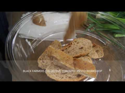 The Black Farmers Collective Toronto: Pesto Workshop