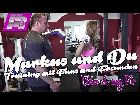 Beintraining und sexy Po ... Tipps und Übungen [Markus & Du]