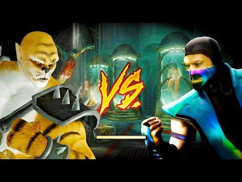 Mortal Kombat 2011 -Goro & Kintaro Gameplay -Tag Team L... | Doovi
