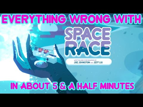 """Everything Wrong With Steven Universe's """"Space Race"""" In About 5 & A Half Minutes"""