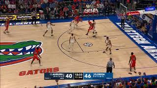 Auburn Basketball vs Florida Highlights