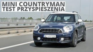 MINI Countryman 1.5 Plug-in Hybrid 224 KM (AT) - acceleration 0-100 km/h