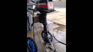 Outboard engine mariner 8 hp 2 stroke long shaft