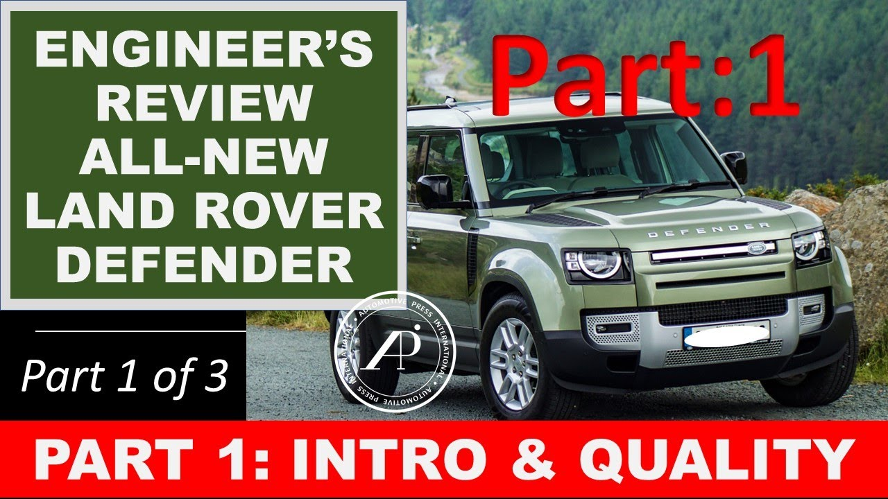 Engineer's Full Review of the All-New Land Rover Defender 110. Part 1: Introduction & Quality Audit.