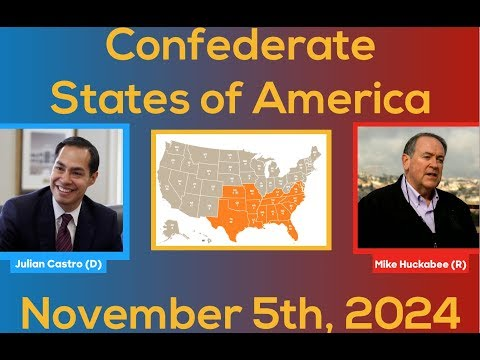 2024 Election Night | Confederate States of America