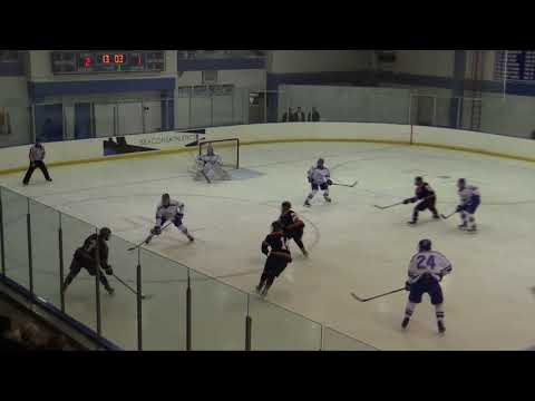 #15 UMass Boston Men's Hockey vs. #6/8 Hobart College (11/17/18) Highlights