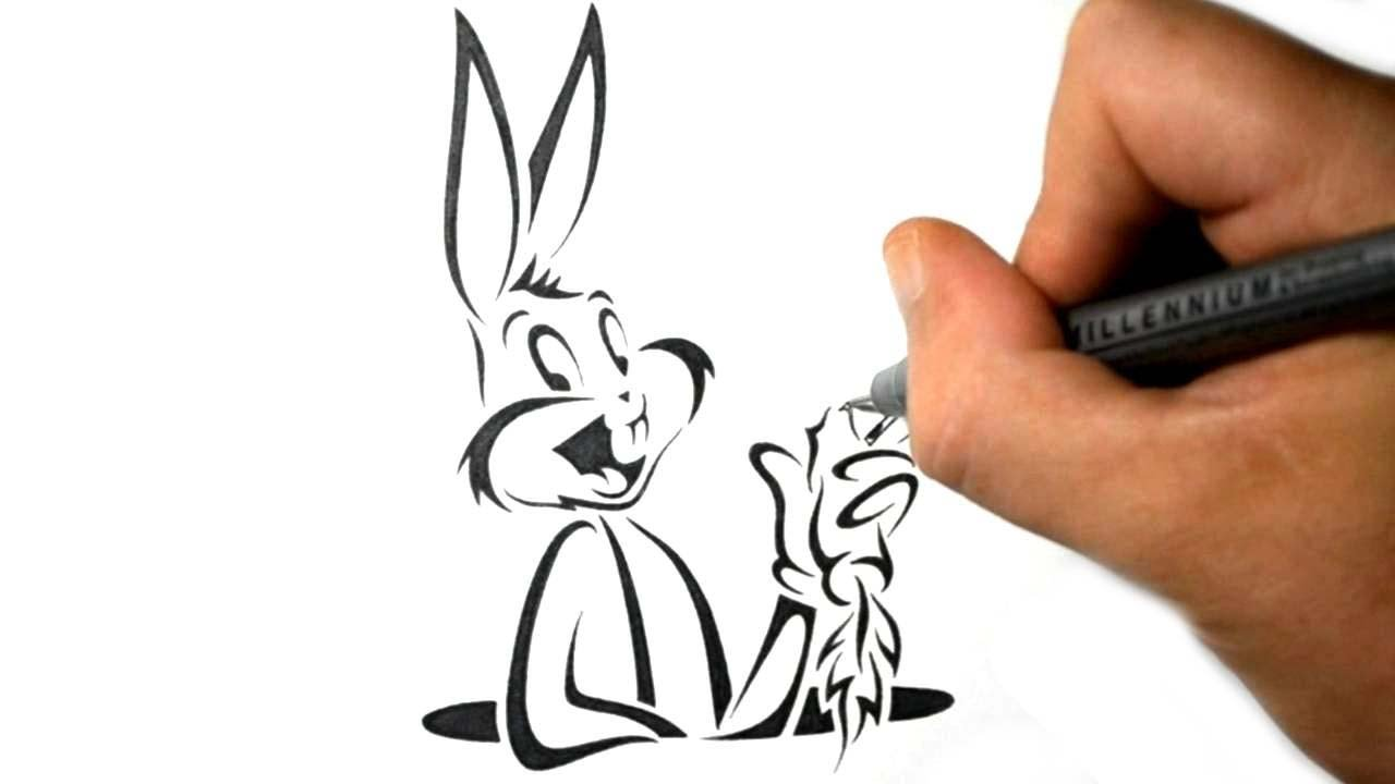 Bugs Bunny Tattoo Designs