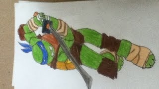 #39 how to draw Leonardo