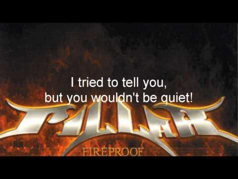 Pillar  Fireproof  With Lyrics on Screen  HD