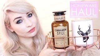 Candles & Maps | HOMEWEAR HAUL | Katie Snooks