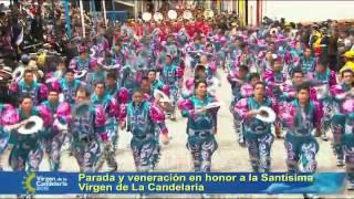 Fiesta de la Candelaria 2015 - Presentación de la Agrupación CAPORALES CENTRALISTAS