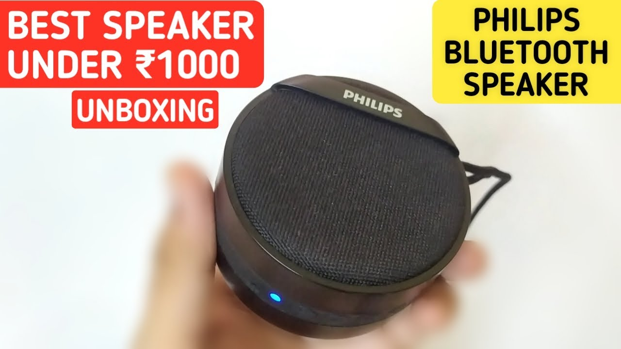 Philips Wireless Bluetooth Speaker With Mic Best Bluetooth Speaker Under 1000 Speaker Under 500 Youtube