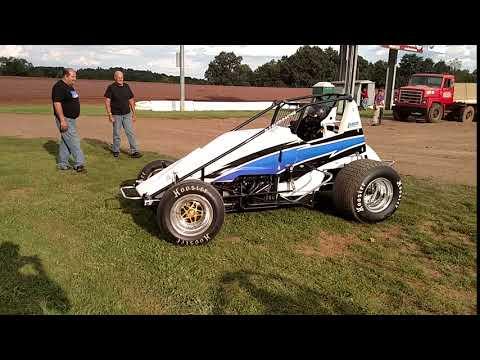 Testing Rush Racing Sprint Cars, Arnie Kent @ Lernerville Speedway