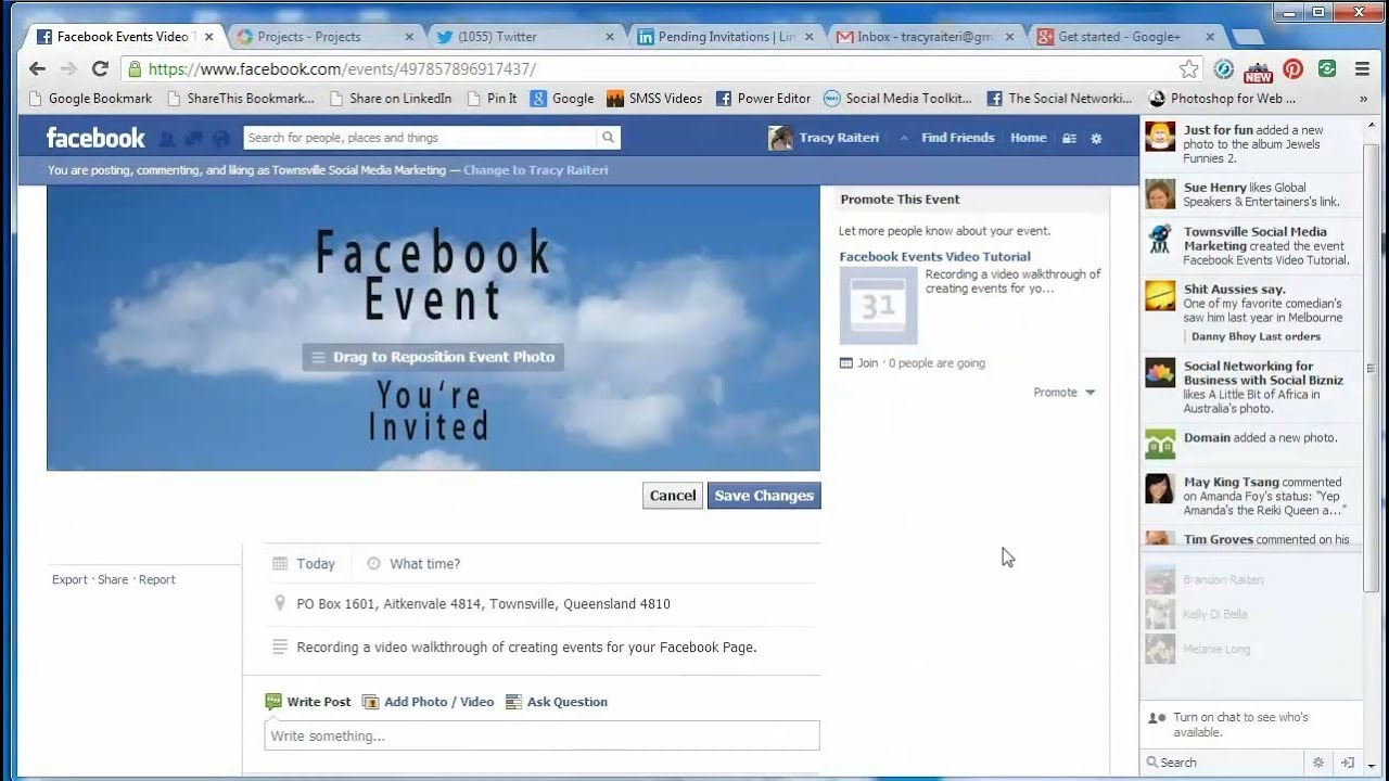 Know How to Create Facebook Event Photo on your computer in 2017