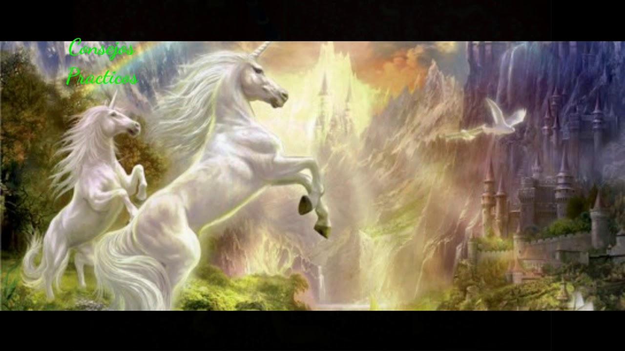 unicornio como amuleto