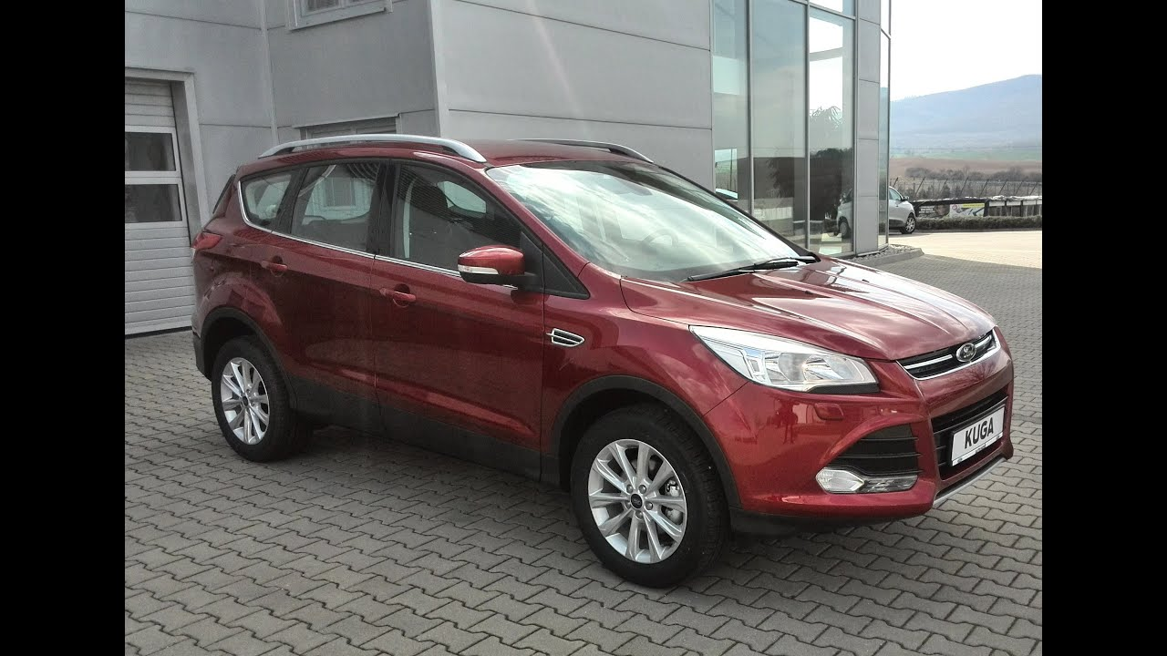 Ford Kuga Ruby Red - YouTube