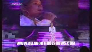 20080516 Jaclyn Victor - Mencintaimu + Pilihlah Aku (Kris Dayanti) + Gemilang @Indonesian Idol 5