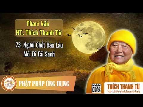 Người Chết Bao Lâu Mới Đi Tái Sanh - Tham vấn HT Thích Thanh Từ 73
