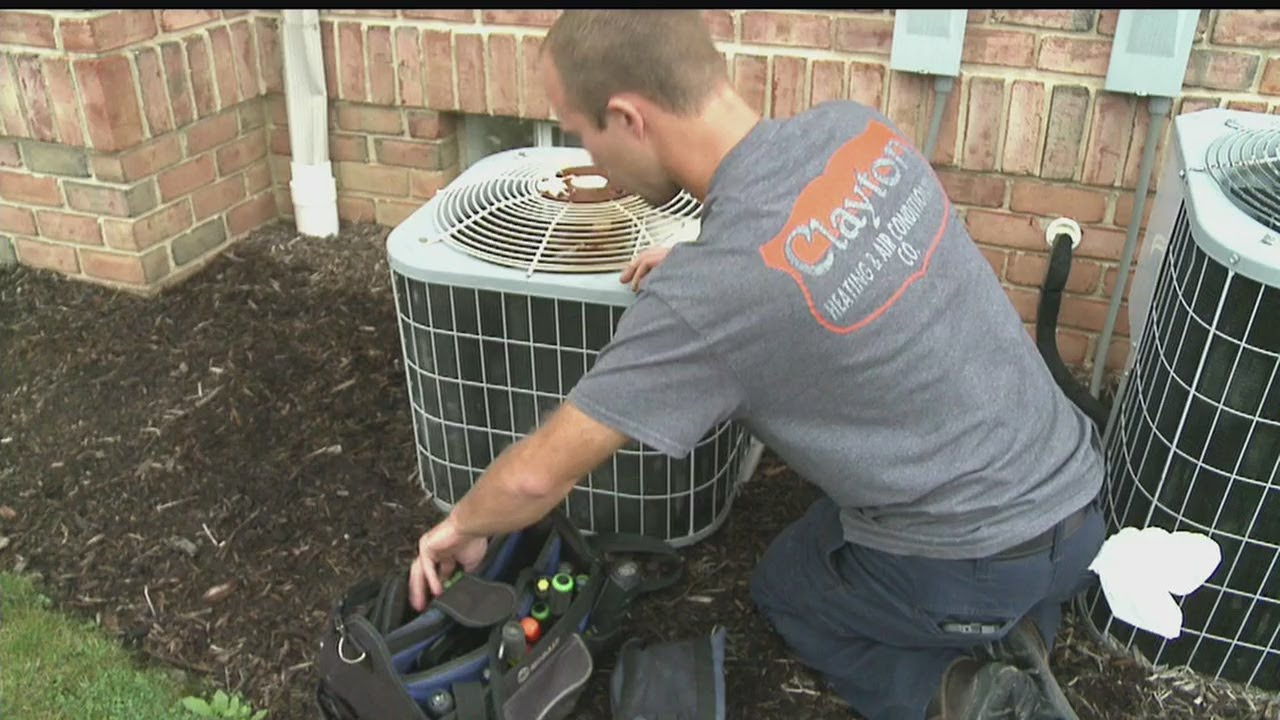 October heat wave causing problems for air conditioning units