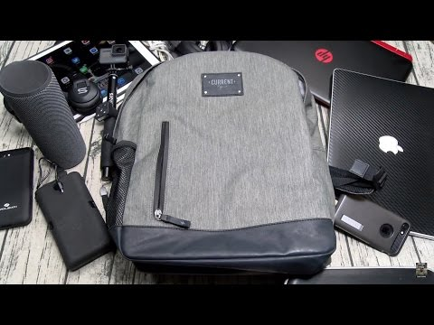 The Move Backpack - Stylish Tech Bag With Built In Battery Charger