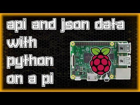 API and JSON with PYTHON