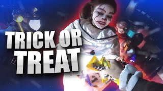 Bikers Go Trick or Treating | 1,000+ Pieces of Candy!
