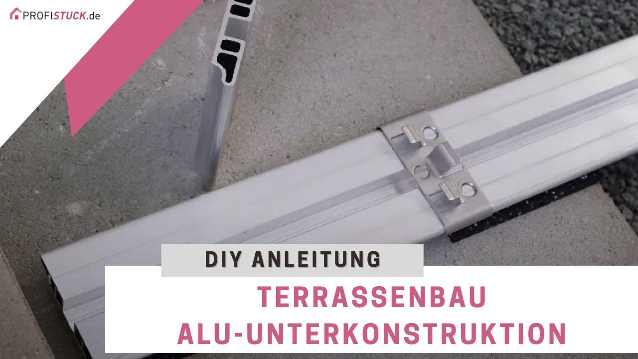 Kovalex® Alu Unterkonstruktion für den Terrassenbau