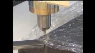 ultrasonic cutting on a multi axis cnc machine dukane ultrasonics