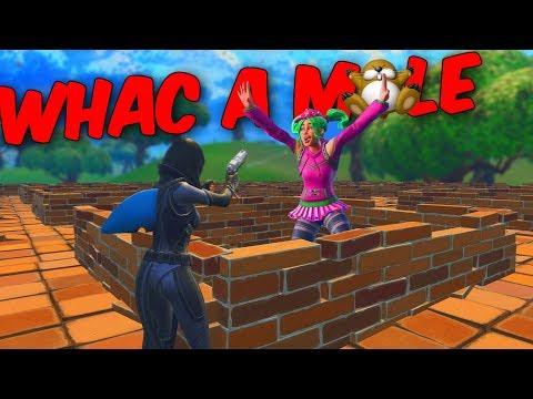 Whac-A-Mole - Fortnite Minigame