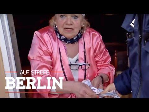 Geld-Kiosk: Warum verteilt sie Geld aus ihrem Fenster? | Auf Streife - Berlin | SAT.1 TV