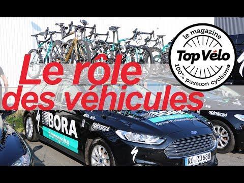 Image de la vidéo Quel est le rôle des véhicules des équipes au coeur du Tour de France ?